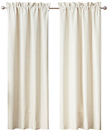 """Waterford Lancaster Pole Top Pair 100"""" x 84"""" Window Drapery"""