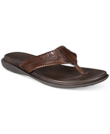 Kenneth Cole Men's Woven Thong Sandals