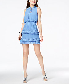 Laundry by Shelli Segal Tiered Ruffle Dress