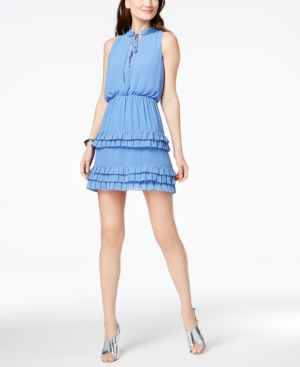 Laundry by Shelli Segal Tiered Ruffle Dress 5695445