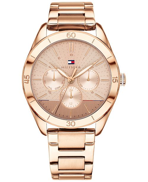 8cc6147ab9d78 Women's Rose Gold-Tone Metal Bracelet Watch 40mm, Created for Macy's