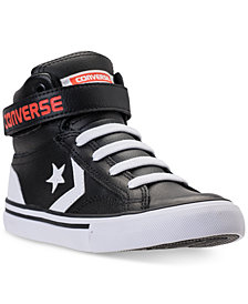 Converse Little Boys' Pro Blaze Strap High Top Casual Sneakers from Finish Line