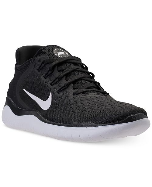 9a95893347f41 Nike Women s Free Run 2018 Running Sneakers from Finish Line ...