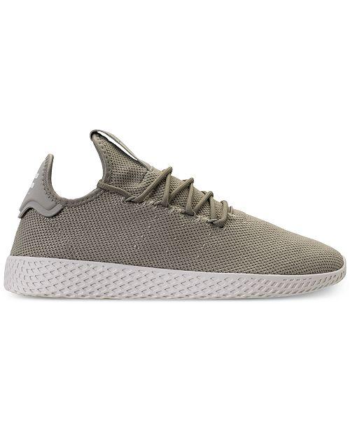 c0bdb1572 ... adidas Men s Originals Pharrell Williams Tennis HU Casual Sneakers from  Finish ...