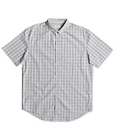 Quiksilver Men's Moon Rhythm Tattersall Button-Down Shirt