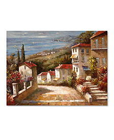 """'Home in Tuscany' by Joval 47"""" x 35"""" Canvas Print"""