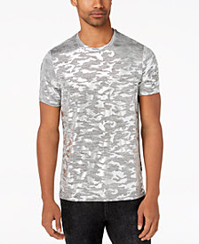 GUESS Men's Foil Camo Stretch T-Shirt