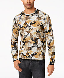 GUESS Men's Camo Sweater