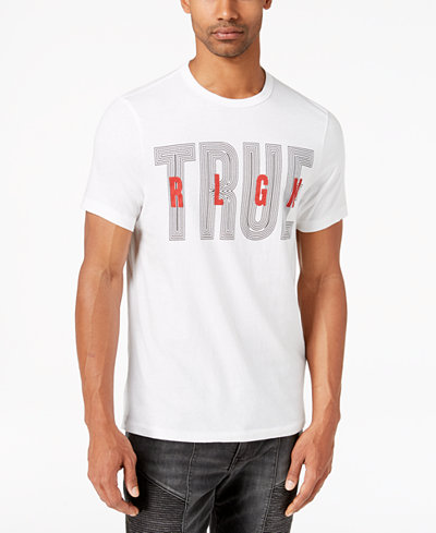True Religion Men's Logo-Print T-Shirt