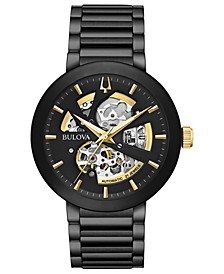 Men's Futuro Black Stainless Steel Bracelet Watch 42mm