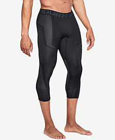Under Armour Men's Threadborne Seamless Cropped Leggings