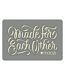 Celebrate Love E-Gift Card