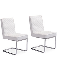 Gaelen Armless Dining Chair (Set Of 2), Quick Ship