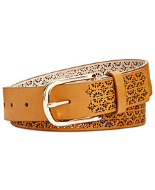 I.N.C. Perforated Belt, Created for Macy's