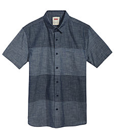 Levi's® Men's Martzen Chambray Colorblocked Shirt
