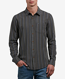 Volcom Men's Sable Striped Shirt