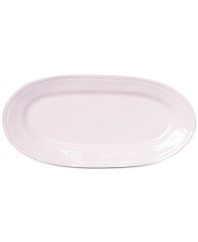 Viva by Vietri Fresh Pink Collection Narrow Oval Platter, Created for Macy's