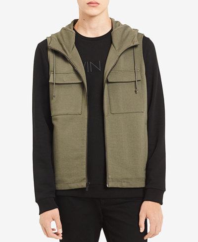 Calvin Klein Men's Hooded Full-Zip Vest