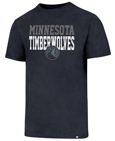 '47 Brand Men's Minnesota Timberwolves Imprint Club T-Shirt