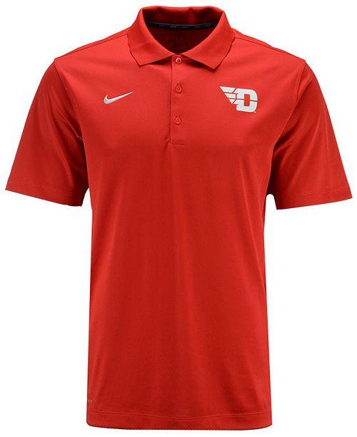 Nike Men's Dayton Flyers Varsity Team Logo Polo