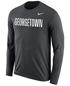 Nike Men's Georgetown Hoyas Dri-FIT Legend Wordmark Long Sleeve T-Shirt