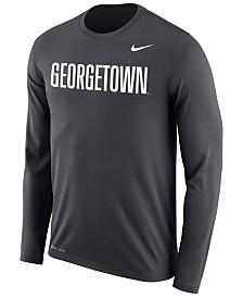 Nike Men's Georgetown Hoyas Dri-FIT Legend Wordmark Long Sleeve T-Shirt