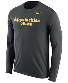 Nike Men's Appalachian State Mountaineers Dri-FIT Legend Wordmark Long Sleeve T-Shirt