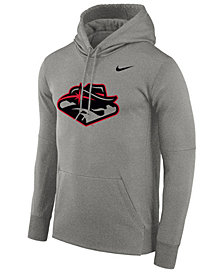 Nike Men's UNLV Runnin Rebels Therma Logo Hoodie