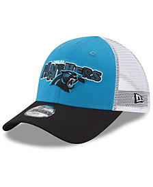 New Era Boys' Carolina Panthers Trucker Joy 9FORTY Cap
