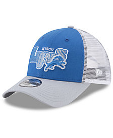 New Era Boys' Detroit Lions Trucker Joy 9FORTY Cap