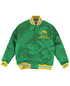 Mitchell & Ness Men's Seattle SuperSonics Satin Jacket