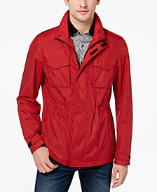 Michael Kors Men's Packable Full-Zip Jacket