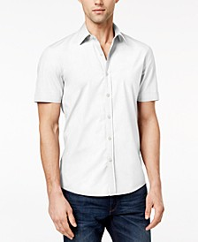 Men's Solid Stretch Shirt