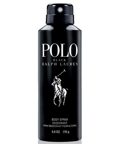Ralph Lauren Polo Black Body Spray, 6 oz