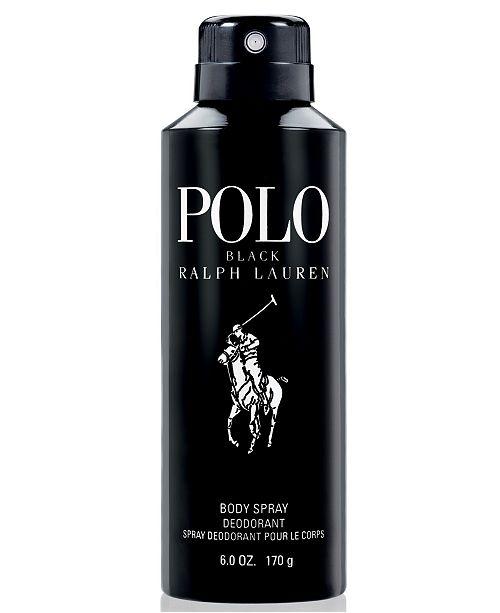Ralph Lauren Men's Polo Black Body Spray, 6 oz