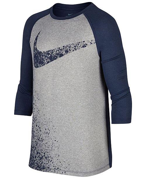 106eb651ea Nike Dri-FIT Legend Training T-Shirt, Big Boys & Reviews - Shirts ...