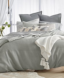 CLOSEOUT! Waffle Stripe Bedding Collection