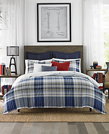 Tommy Hilfiger Poquonock Plaid 3-Pc. King Comforter Set