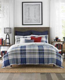 Poquonock Plaid 3-Pc. Full/Queen Comforter Set