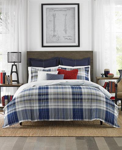 Tommy Hilfiger Poquonock Plaid Comforter Sets