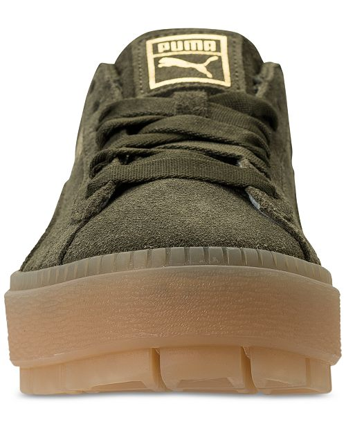 6c2f942c43f Puma Women s Suede Platform Rugged Casual Sneakers from Finish Line ...
