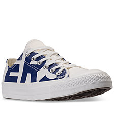 Converse Men's Chuck Taylor All Star Wordmark Low Top Casual Sneakers from Finish Line