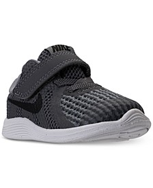 Toddler Boys' Revolution 4 Stay-Put Closure Athletic Sneakers from Finish Line
