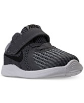 7f0e2510f16e9 Nike Toddler Boys  Revolution 4 Stay-Put Closure Athletic Sneakers from  Finish Line
