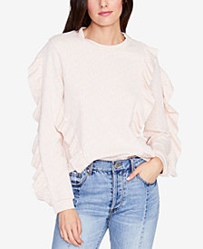 RACHEL Rachel Roy Ruffled Sweatshirt, Created for Macy's
