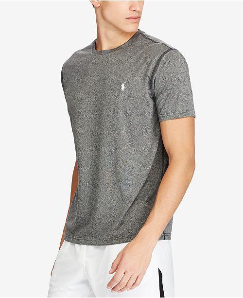 96937dfd9 Polo Ralph Lauren Men's Active-Fit Performance T-Shirt & Reviews - T ...