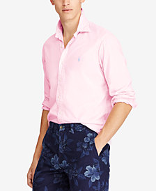 Polo Ralph Lauren Men's Slim Fit Garment Dyed Chino Shirt