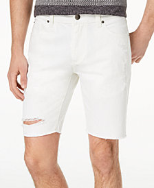 American Rag Men's Justin Ripped Denim Shorts, Created for Macy's