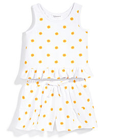 Nowadays x Bailee Madison 2-Pc. Daisy-Print Tank Top & Shorts Set, Big Girls & Juniors
