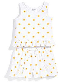 Nowadays x Bailee Madison 2-Pc. Daisy-Print Tank Top & Shorts Set, Big Girls & Juniors